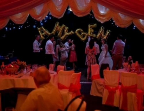 As the curtain came up on Amy and Ben